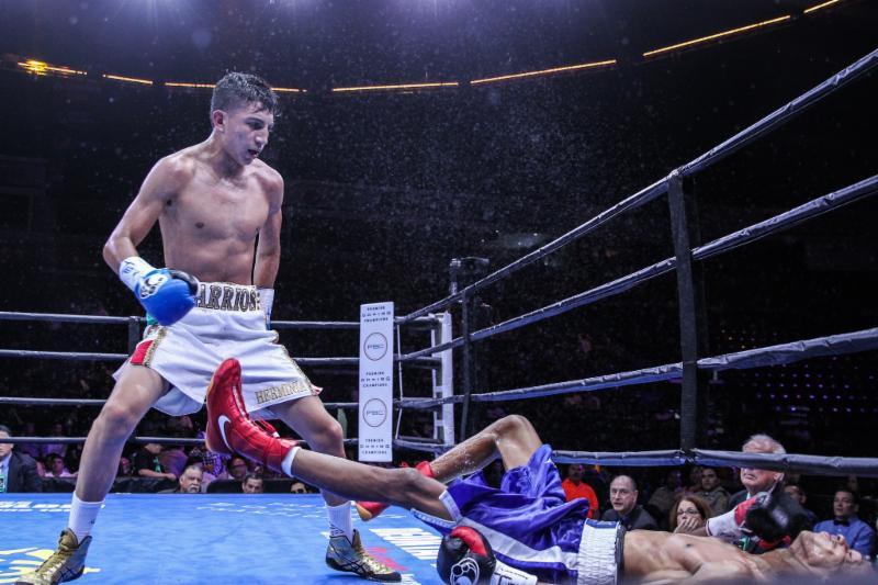 Featherweight Mario Barrios Continues Unbeaten Streak With