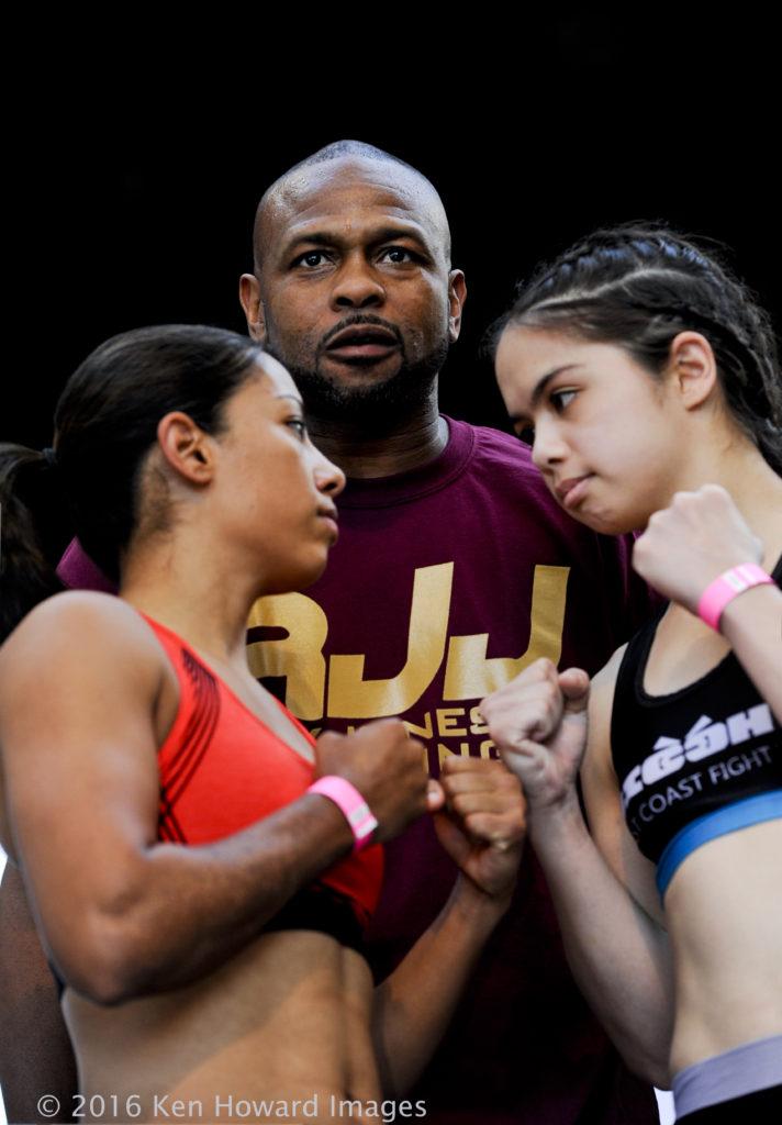 Marina Ramirez (160lb) vs. Rachel Sazoff (160lb)